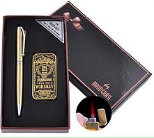 Подарунковий Набір Ручка і Запальничка Jack daniel's