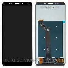 Дисплей для Xiaomi Redmi 5 Plus + touchscreen Black (OEM)