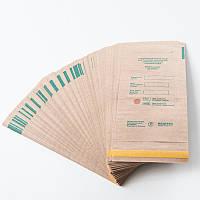 Крафт-пакеты 100х250 мм (100шт/уп)