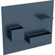 500.649.JK.2 Geberit Магнитная доска с боксами для хранения: магнитная доска: лава матовый, боксы для