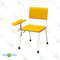 Стул для взятия крови, кресло для забора крови, донорское кресло с подлокотником СД-1 Завет
