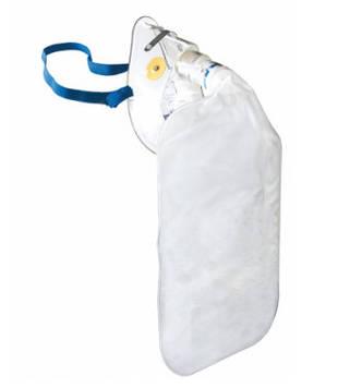 Маска кислородная нереверсивная (для взрослых) Flexicare с мешком и кислородной трубкой 2.1 м