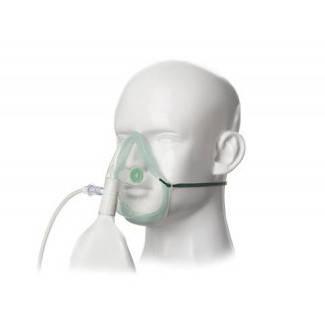 Маска кислородная нереверсивная (для взрослых) EcoLite с мешком и кислородной трубкой 2.1 м PREMIUM