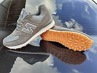 NEW BALANCE BT мужские кроссовки цвет серый + сетка