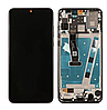 Дисплей (екран) для Huawei P30 Lite/Nova 4e, версія 4/64; 4/128GB, 24 MP + тачскрін чорний, з передньою панеллю