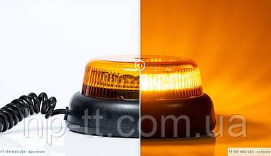 Проблесковый маячок оранжевый Fristom FT-100 DF LED MAG M78