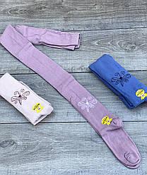 Дитячі колготи бавовна KBS звірятка для дівчаток 0,1,3,5 років 6 шт. в уп. мікс із 3х кольорів