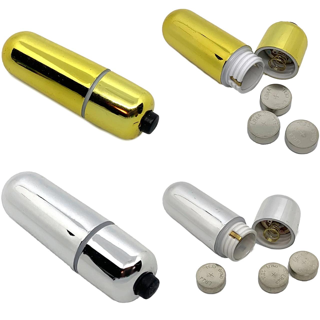 Компактный мини вибратор. Вибро пуля