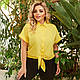 Жіноча літня сорочка на зав'язках, фото 3