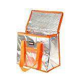 Термосумка 16 л Оранжевая, фото 3