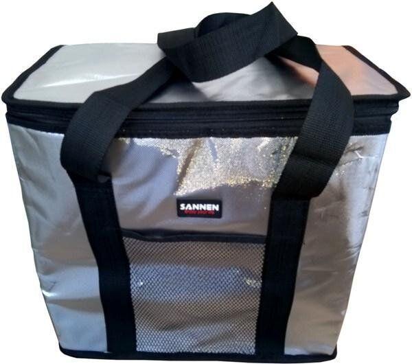 Термосумка, изотермическая водонепроницаемая сумка, сумка-холодильник 25 л, Черный