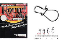 Застежка Decoy Round Snap #1.5 24lb 13шт