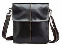 Мужская сумка- мессенджер кожаная Vintage 14803 Коричневая, фото 1