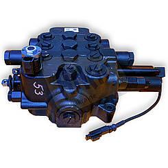 25/624000, 25/619100, 25/615400, 25/974600 Гидрораспределитель передний на JCB 3CX, 4CX