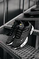 Кроссовки мужские Nike Air Max TN Plus 3 в стиле найк Черные (Реплика ААА+)
