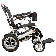Надлегкий електричний візок для інвалідів MIRID D6034. Складається з допомогою пульта., фото 2