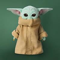 Disney Original Малыш Йода Грогу мягкая плюшевая детская игрушка Мандалорец Baby Yoda Grogu