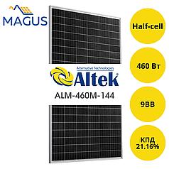 Солнечная батарея Altek ALM-460М-144, 460 Вт 9BB (монокристалл)
