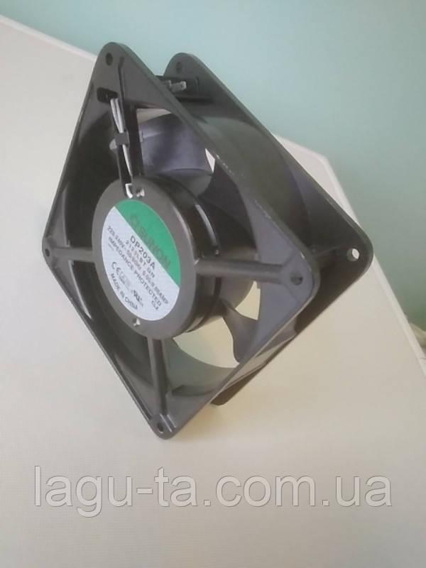 Вентилятор DP203A  120мм*120мм *38мм. 220вольт 50/60Гц.