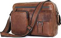 Сумка мужская Vintage 14466 Коричневая, фото 1