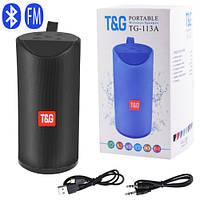 Bluetooth-колонка SPS UBL TG113A, c функцією speakerphone, радіо, black