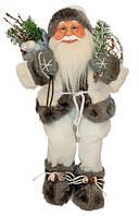 Фігурка новорічна добрий Санта Клаус, 46 см, фото 1