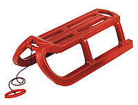 Санки Alpen Rodel красные, фото 1