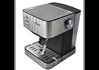 Полуавтоматическая кофемашина Crownberg CB 1565 1000Вт с капучинатором