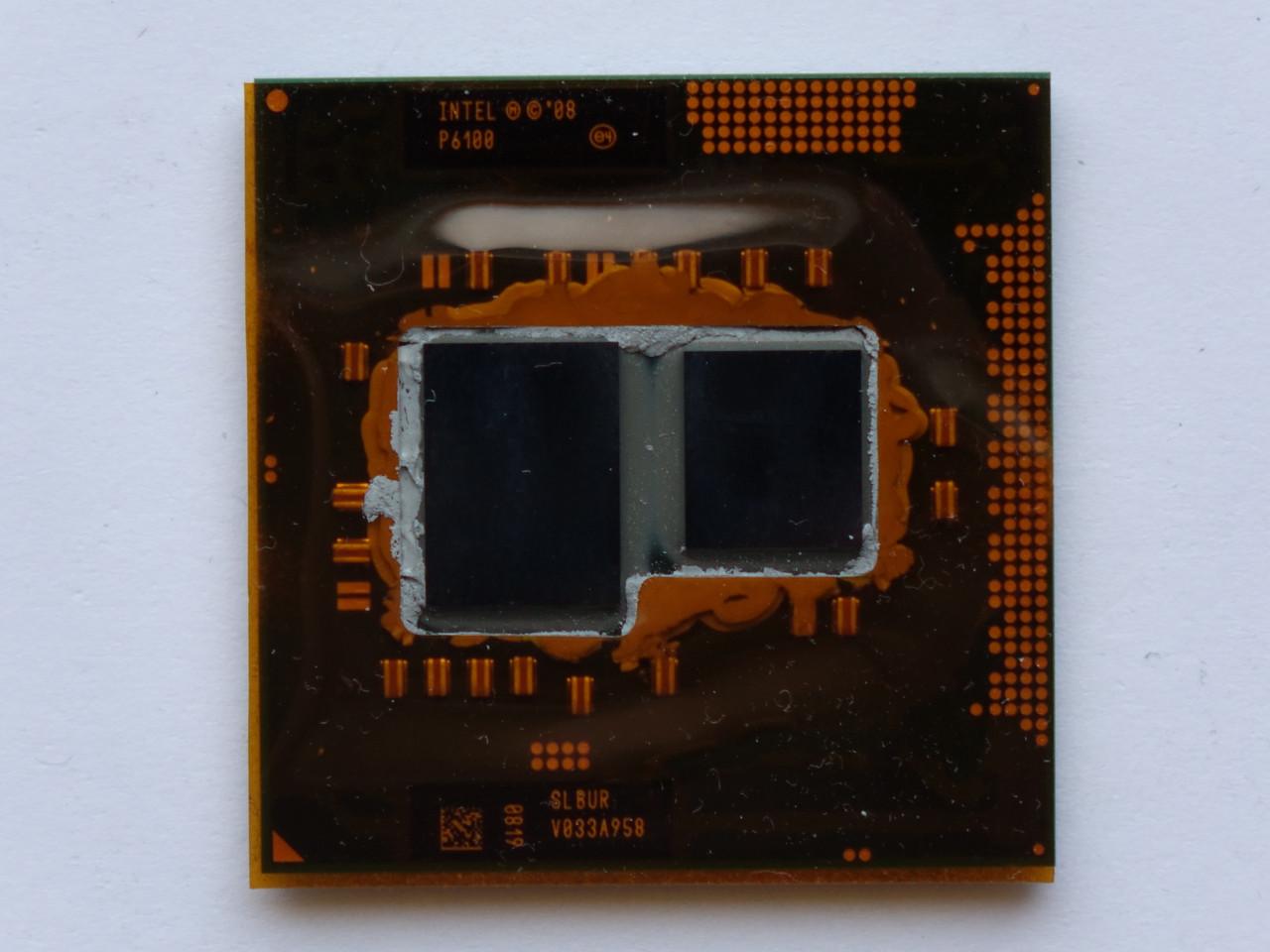 Процессор Intel Pentium P6100 2GHz, 35W, БУ
