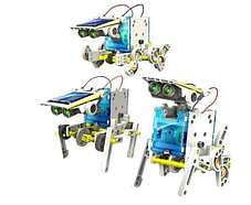 Конструктор робот на сонячних батареях Solar Robot 14 в 1 Дитячі конструктори, фото 3
