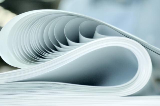 Тонкая полиграфическая бумага для печати книг, справочников, каталогов, мини брошюр, ценных бумаг