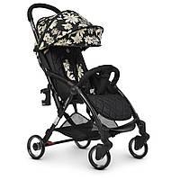 Дитяча коляска ME 1058 Floral Black WISH