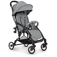 Дитяча коляска ME +1058 Gray WISH, сіра