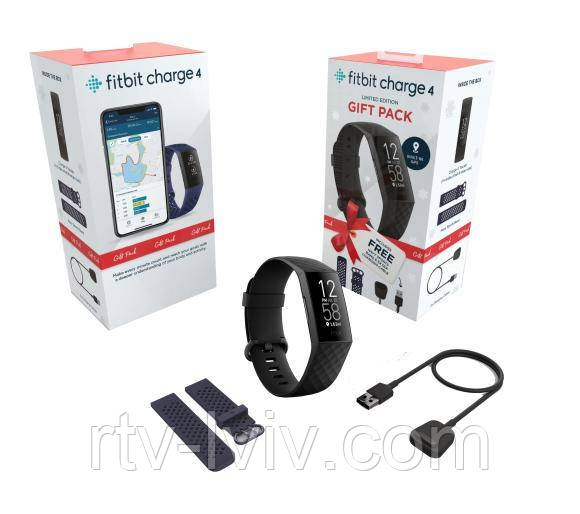Часы Fitbit Charge 4 Gift Pack