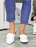 Туфли белые кожаные женские, фото 2