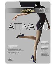 Колготки женские Omsa Attiva 20 den ОПТ, все размеры, в се цвета, колготки Golden lady