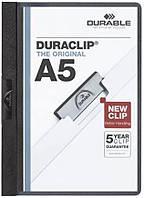 Папка с клипом А5 формата на 30 листоав DURAСLIP