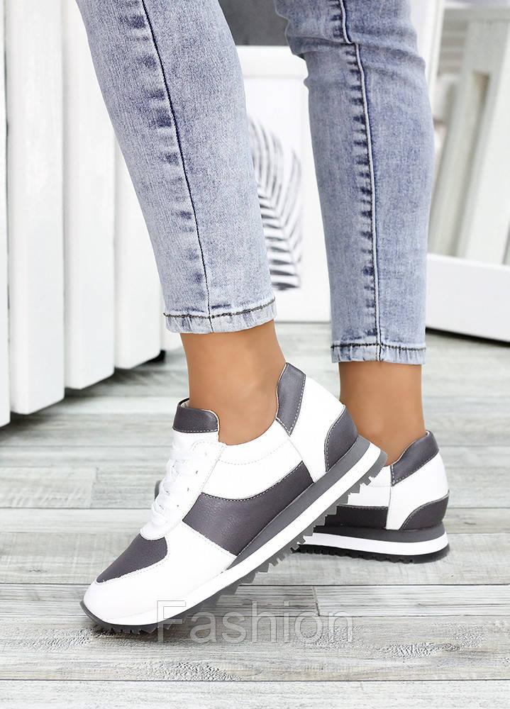 Жіночі кросівки шкіряні білі