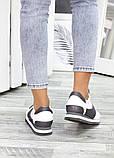 Жіночі кросівки шкіряні білі, фото 5