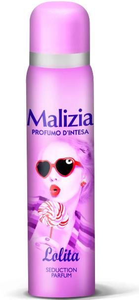 Дезодорант Malizia Profumo D Intesa жіночий парфумований Lolita 100 мл Італія