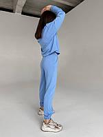 Жіночий класичний спортивний костюм з двунити (Норма), фото 6