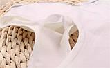 Топик подростковый хлопок белый, фото 4