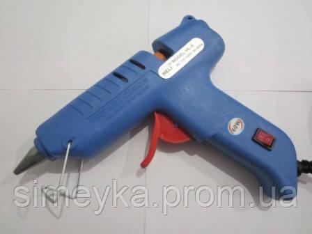 Пистолет клеевой большой с кнопкой, под клей 11 мм