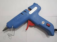 Пистолет клеевой большой с кнопкой, под клей 11 мм, фото 1
