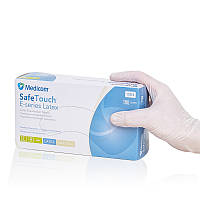 Перчатки латексные медицинские, опудренные, Белые (100 шт/уп) Medicom L