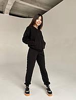 Спортивный женский костюм из двунити с кофтой на змейке (Норма), фото 10