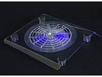 Охлаждающая Подставка кулер для ноутбука пластик Большой вентилятор