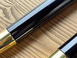 Меблеві опори та металевий наконечник захист на дерев'яні ніжку золотий конус, фото 8