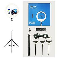 Кільцева LED лампа RL-21 Soft Ring 54см 60W з дистанційним управлінням, фото 2