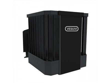 Піч для сауни VESUVI Ребро 30м3 без виносу зі склом 305*305, фото 2